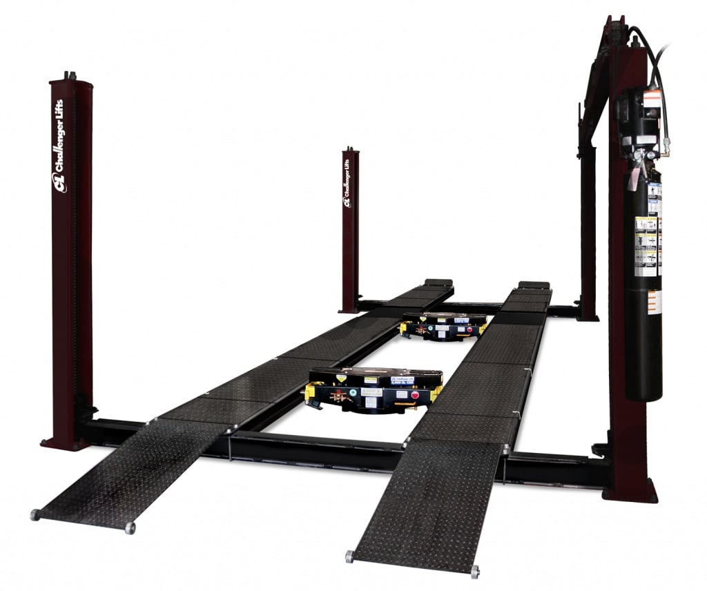 44018 4-Post Car Lift | Challenger Lifts on