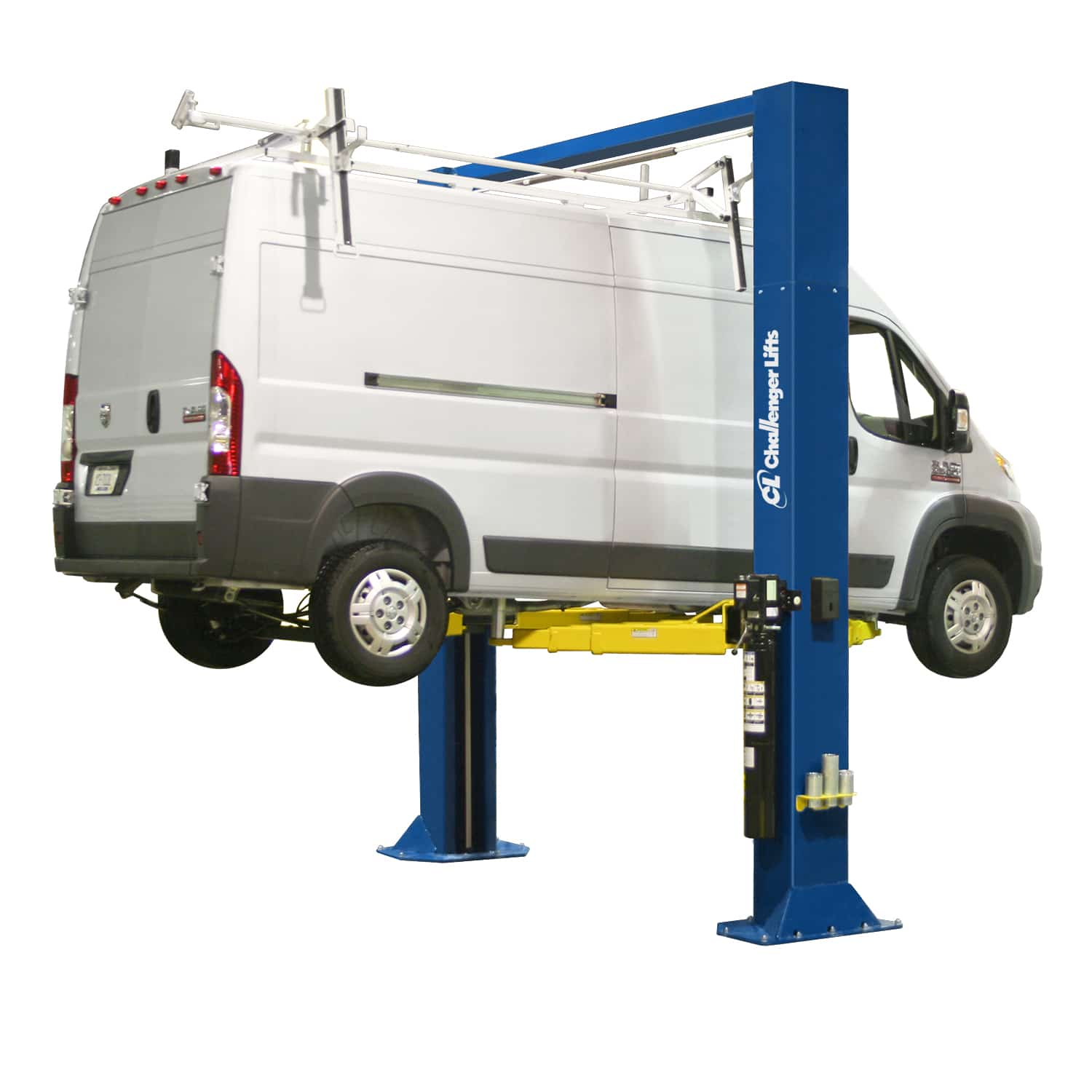 Challenger's 15000 2-post lift can expand your fleet service